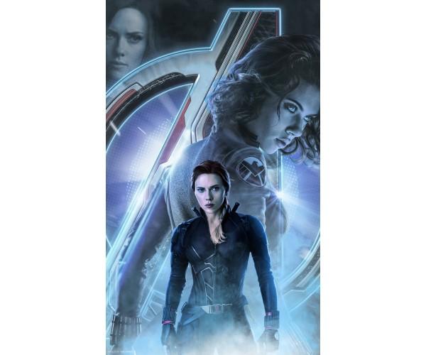 Постер Чорна Вдова Black Widow A3 01