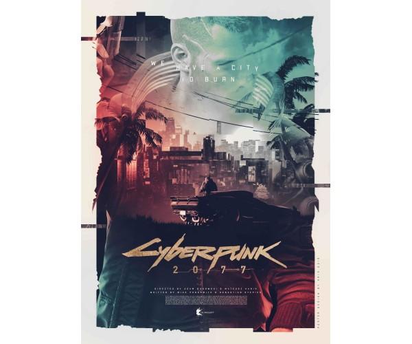 Постер Cyberpunk 2077 03