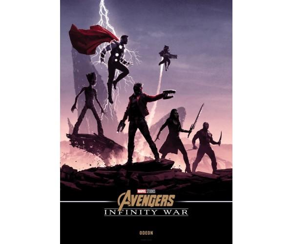 Постер Avengers Endgame 08