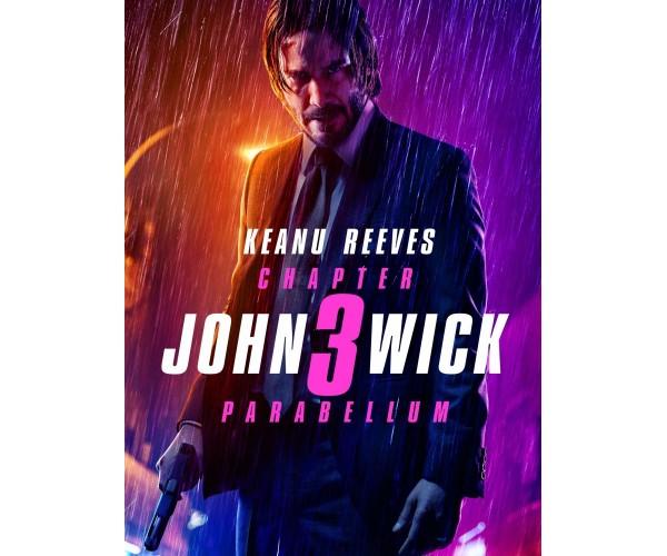 Постер Джон Уік 3 01