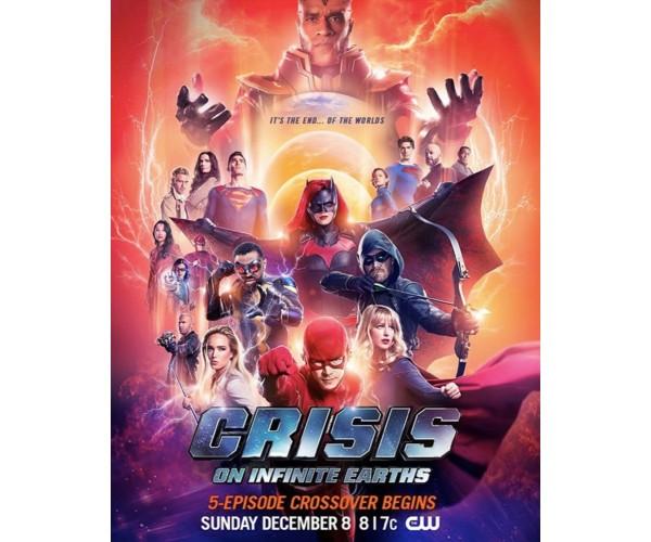 Постер Crisis on Infinite Earths
