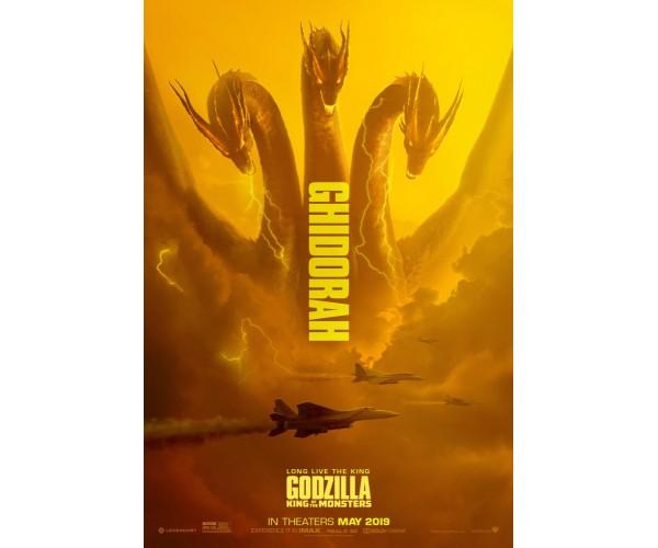 Постер Ґодзілла 02
