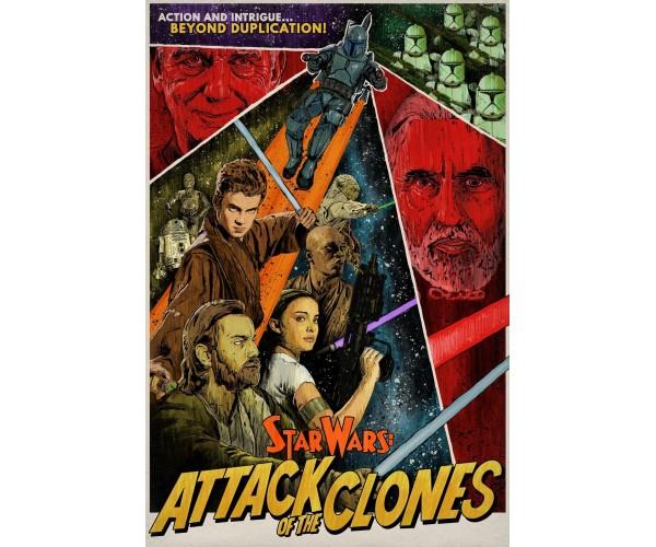 Постер Зоряні Війни 07
