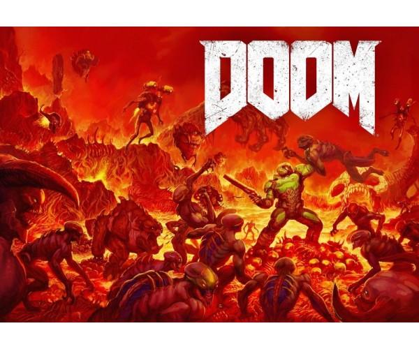 Постер DOOM 01