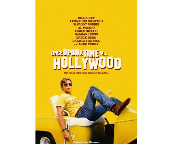 Постер Одного разу в Голлівуді 04