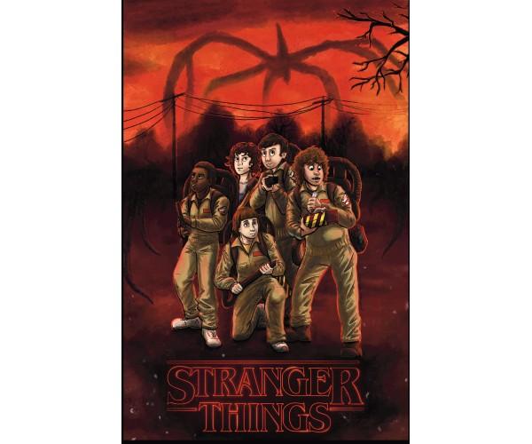 Постер Stranger Things 05