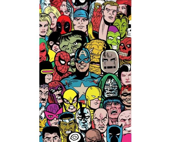 Постер герої Марвел 01