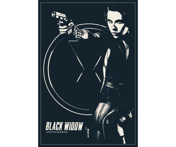 Постер Чорна Вдова Black Widow A3 02