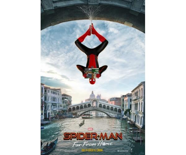 Постер Spider-Man: Far From Home 01