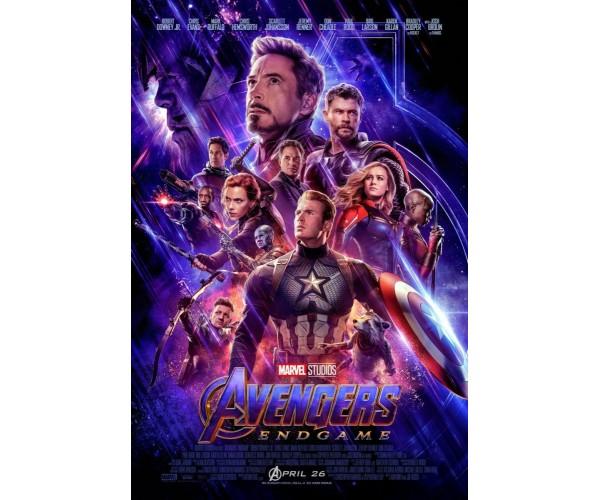 Постер Avengers Endgame 02