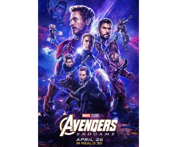 Постер Avengers Endgame 03