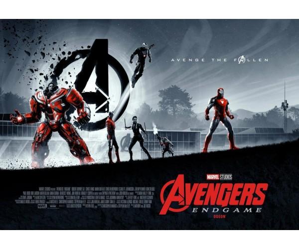 Постер Avengers Endgame 06