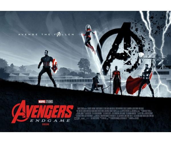 Постер Avengers Endgame 07