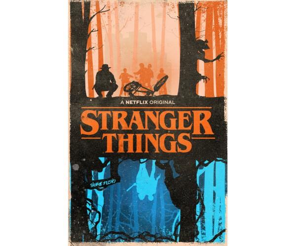 Постер Stranger Things 04