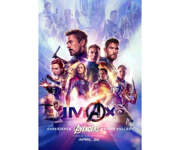 Постер Avengers Endgame 04