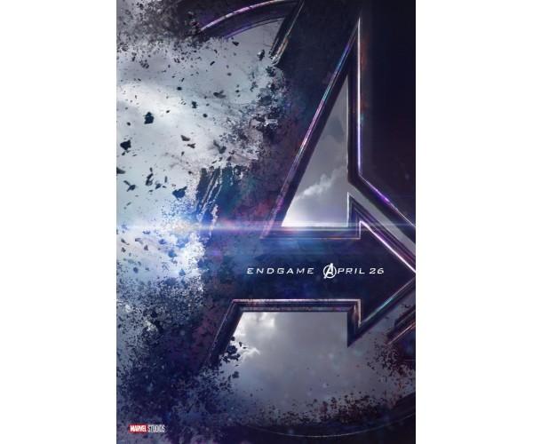 Постер Avengers Endgame 01