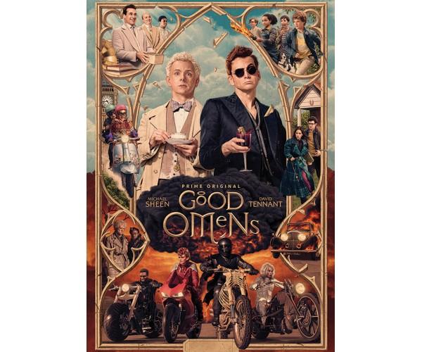 Постер Good Omens \ Добрі передвісники 01
