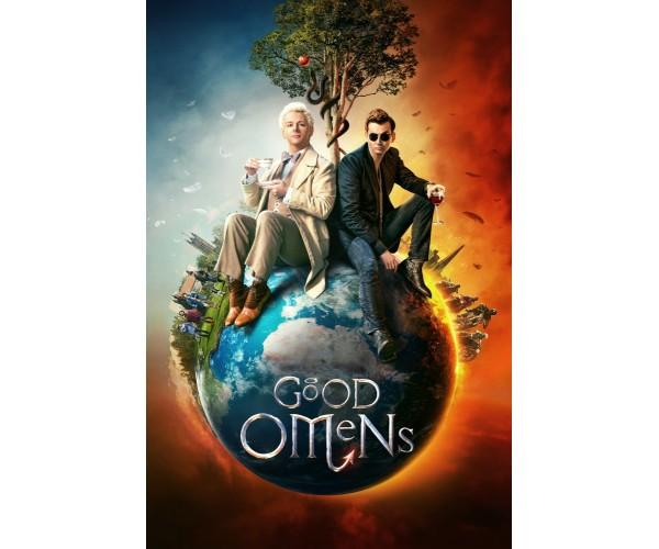 Постер Good Omens \ Добрі передвісники 02