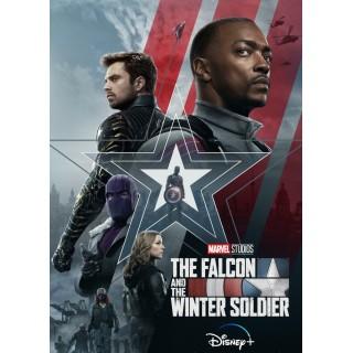 Постер Сокіл та Зимовий солдат The Falcon and the Winter Soldier А3 01