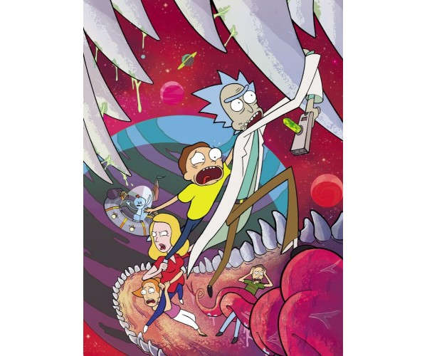 Постер Рік і Морті Rick and Morty A3 03