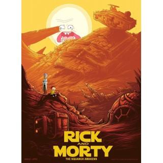 Постер Рік і Морті Rick and Morty A3 05