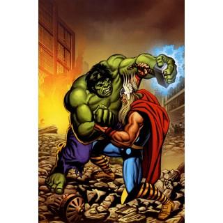 Постер Халк і Тор А3