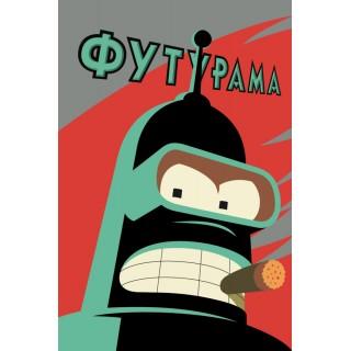 Постер Футурама Futurama A3 03