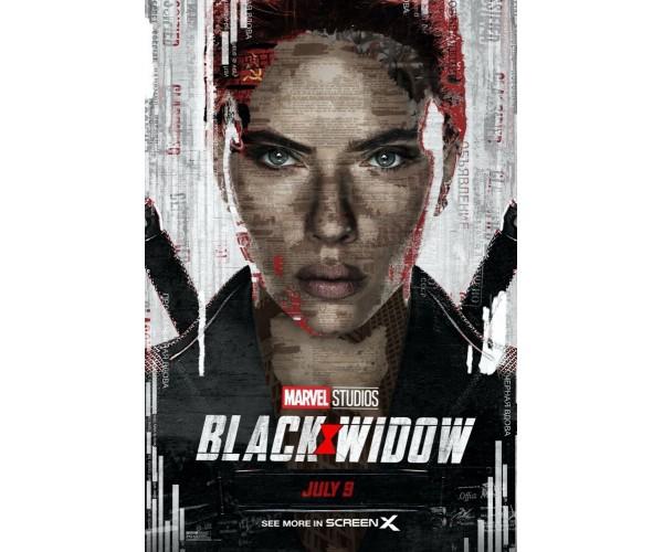 Постер Чорна Вдова Black Widow A3 06