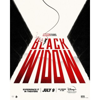 Постер Чорна Вдова Black Widow A3 12