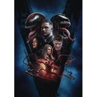 Постер Веном 2: Карнаж Venom: Let There Be Carnage A3 04