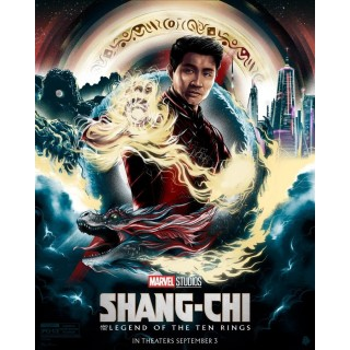 Постер Шанґ-Чі Shang-Chi A3 03