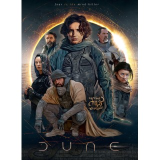 Постер Дюна Dune A3 06