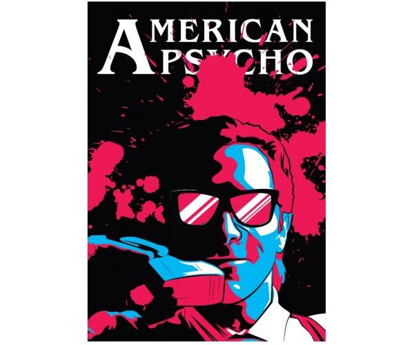 Постер Американський психопат American Psycho A3 01