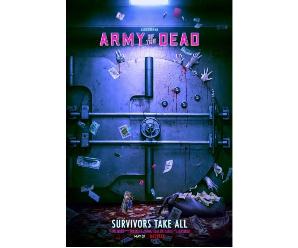 Постер Армія мерців  Army of the Dead A3 01
