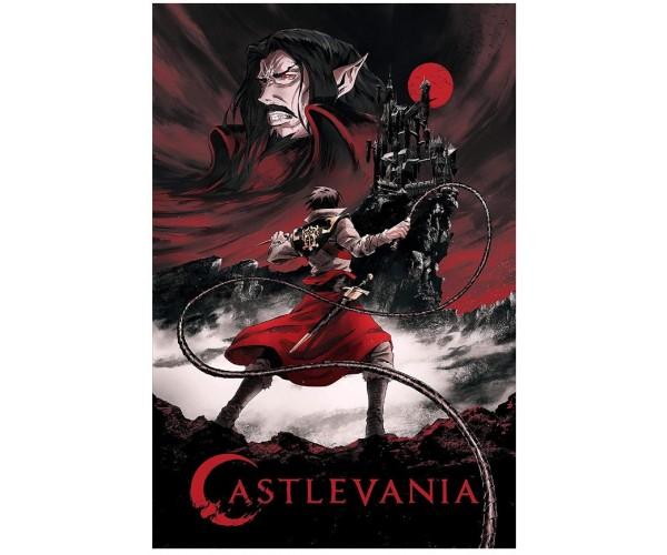 Постер Castlevania A3 02