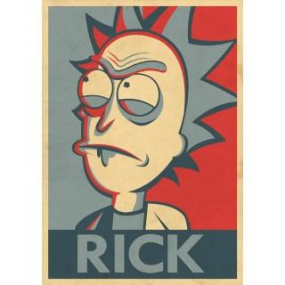 Постер Рік і Морті Rick and Morty A3 06