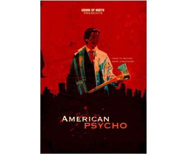 Постер Американський психопат American Psycho A3 03