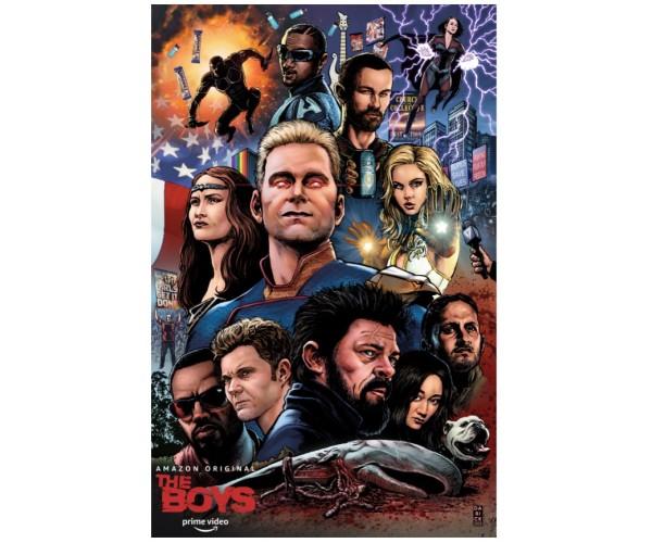Постер Boys Хлопаки A3