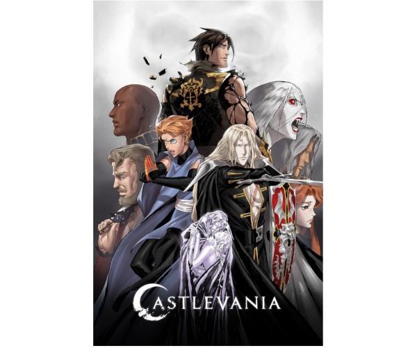 Постер Castlevania A3 03