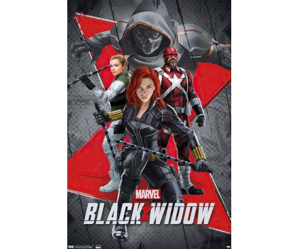 Постер Чорна Вдова Black Widow A3 04