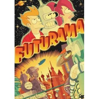 Постер Футурама Futurama A3 01