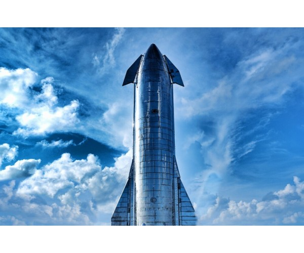 Постер Dragon - SpaceX A3