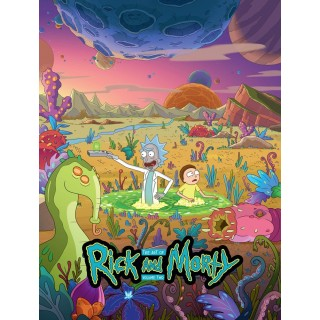 Постер Рік і Морті Rick and Morty A3 17