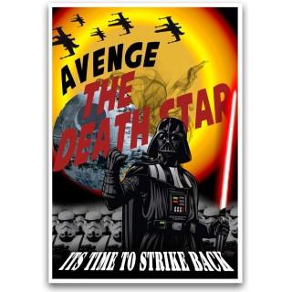 Постер Зоряні Війни Star Wars А3 09