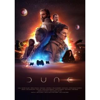 Постер Дюна Dune A3 04
