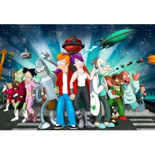 Постер Футурама Futurama A3 02