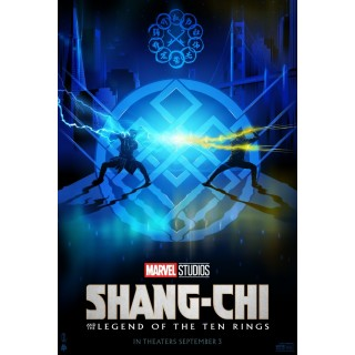 Постер Шанґ-Чі Shang-Chi A3 02