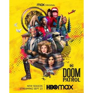 Постер Фатальний патруль Doom Patrol A3