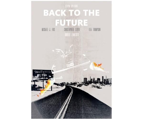 Постер Назад у майбутнє Back to the Future A3 06