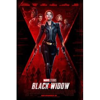Постер Чорна Вдова Black Widow A3 08